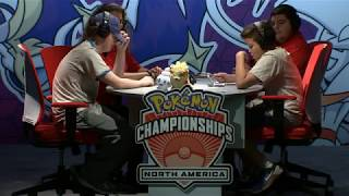 http://bit.ly/ST1xUqWatch Nathaniel battle Alfredo in the finals of the 2017 Pokémon Video Game North American International Championships Senior Division (match starts at 05:30)! Learn more about the Pokémon Championship Series on our site!