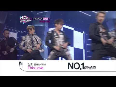 엠카운트다운 - M COUNTDOWN This Week #1 - 신화 SHINHWA \