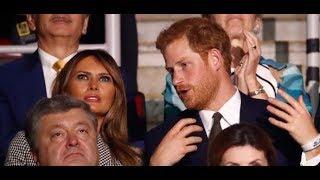Video Melania Trump: Meghan war dabei - doch Prinz Harry zeigt sich lieber mit einer anderen MP3, 3GP, MP4, WEBM, AVI, FLV Oktober 2017