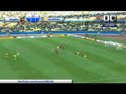 España vs Sudáfrica - Copa Confederaciones 2009