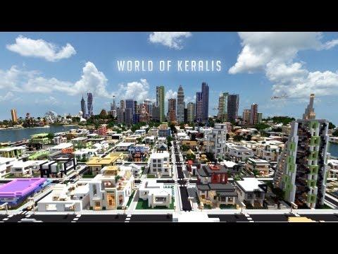 World of Keralis – Epic cities – Minecraft server + Download