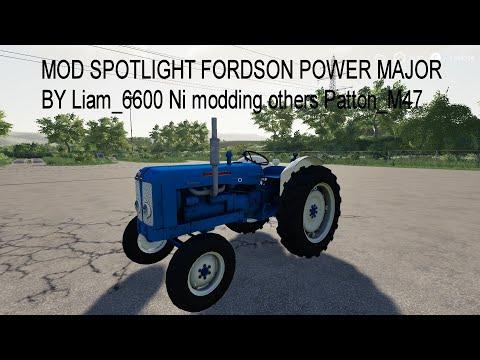 Fordson Super Major WIP v1.0