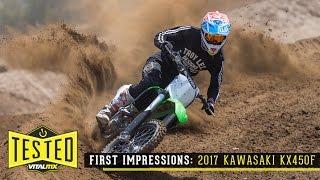 8. Review/First Impressions: 2017 Kawasaki KX450F - Vital MX