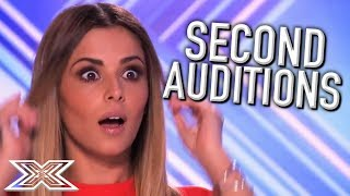 Video ACTS Return for SECOND Auditions on The X Factor UK! | X Factor Global MP3, 3GP, MP4, WEBM, AVI, FLV September 2018