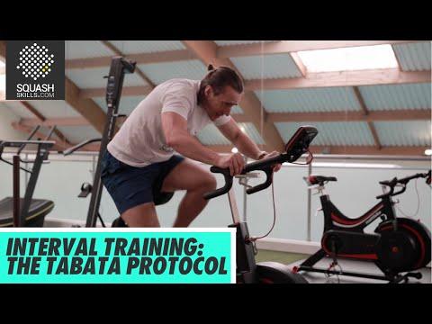Squash Tips: Interval Training For Squash  - The Tabata Protocol