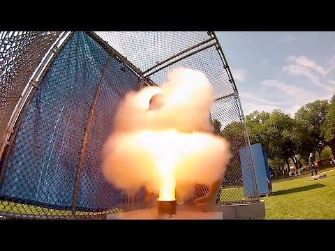 CPSC Fireworks Safety Demonstration 2016