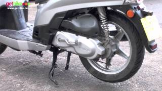 8. Kymco People S 125 Walk-around by GetBike - LJK