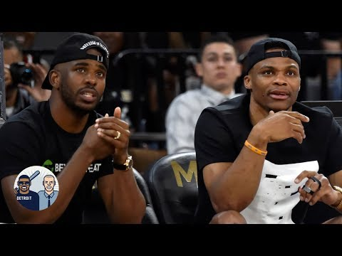 Video: Did James Harden take a dig at Chris Paul with Russell Westbrook comments? | Jalen & Jacoby