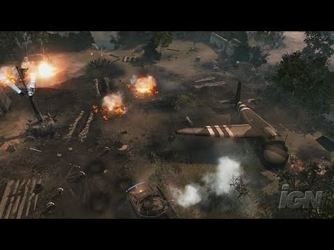 Company of Heroes: Opposing Fronts PC Games Gameplay -
