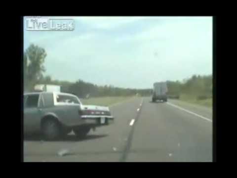 Fatal Car Crash Caught on Police Dashcam