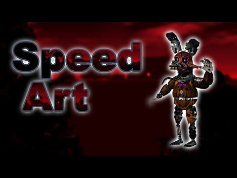 FNAF 4 Speed Edit/Speed Art/Affinity Photo