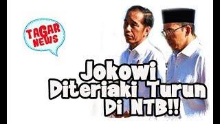 Video Wow! Jokowi Diteriaki Turun Di NTB MP3, 3GP, MP4, WEBM, AVI, FLV September 2018