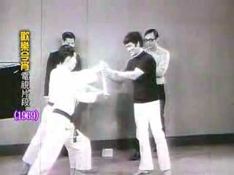 超級珍貴影片!李小龍1969年的武術表演!