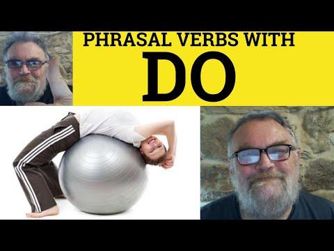 705 Phrasal Verbs with Do - English Class ESL