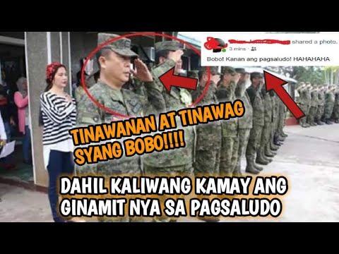 Pinagtawanan Sya at tinawag na bobo dahil sa maling pag Saludo???