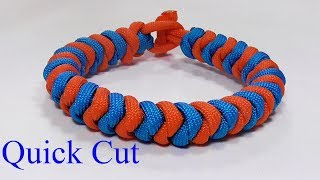 Instructions for how to tie a 2 color snake knot paracord survival bracelet without buckle in this easy step by step DIY video tutorial. This unique homemade 550 cord bracelet is tied with a simple loop and toggle knot closure. Knots used: larks head or cow hitch for loop, snake knot, toggle button knot. (no buckle).Demonstration bracelet: 20cm or 8 inchesMaterials used: 2 x 180cm (71 inches) 550 paracord******************************************************************I would love to see your knotted creations. Feel free to join and post up at the WhyKnot facebook group. https://www.facebook.com/groups/798406973670243