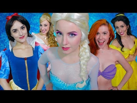 Princess - Frozen's Elsa and the Disney Princesses have had enough of being damsels in distress! Subscribe for more: http://bit.ly/SubscribeAVbyte Watch Elsa and the Di...