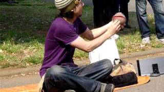 Japanese Crystal Ball Performer (Contact Juggling)