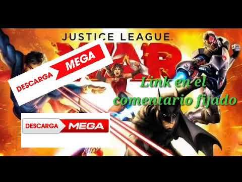 Justice league: war descargar pelicula en español latino por Mega
