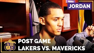 Jordan Clarkson Talks Lakers Being Mad & Frustrated After Loss To Mavericks by Lakers Nation