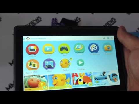 RECENSIONE Tablet per bambini Android 5.1.1 1GB Ram + 8GB Rom Dragon Touch Y88X Plus 7