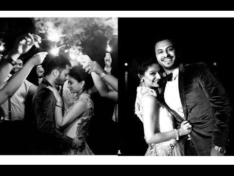Dimpy Ganguly's Black & White Wedding Photoshoot