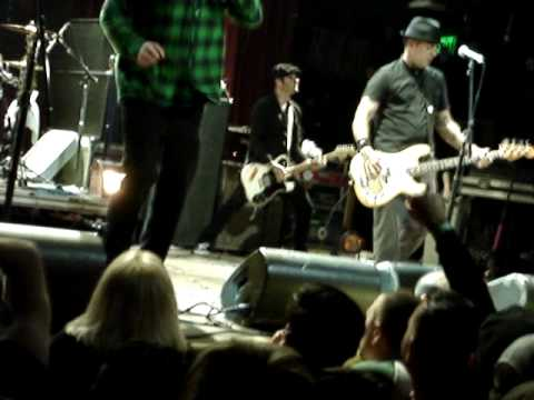 "Street Dogs ""Tobey's Got A Drinking Problem"" LIVE HOB Disney 2011"
