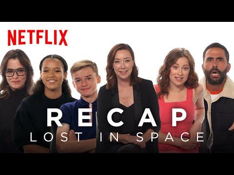 The Lost in Space Cast Recaps Season 1 | Netflix