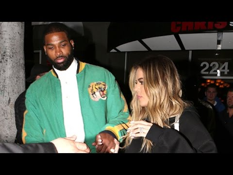 Khloe Kardashian And Tristan Thompson Hit A Hookah Bar