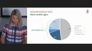 Ressursrapport felt og funn 2017 – Verdier for framtiden