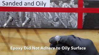 In this video, Devcon epoxy is used on several surfaces. One surface is properly prepared and the others aren't. Do you think...