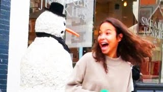 Funny - Funny Scary Snowman Prank - Season 3 Episode 3