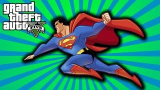 FOLLOW ME ON TWITTER ▻ http://twitter.com/mcsportzhawk GTA V: This video shows you How To Fly with the Superman Skyfall...