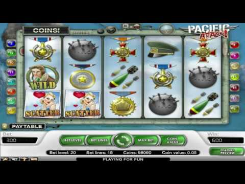 Free Pacific Attack Slot by NetEnt Video Preview | HEX