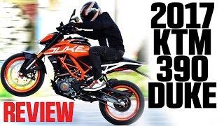 6. 2017 KTM 390 Duke Review