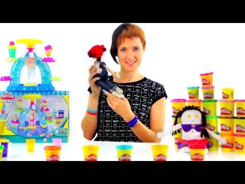 Весёлая Школа с Плей До. Рlау Dоh мороженое. Видео с Машей - DomaVideo.Ru