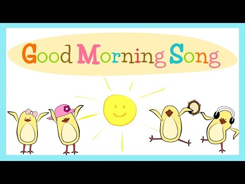Video Good Morning Song for Kids (with lyrics) | The Singing Walrus download in MP3, 3GP, MP4, WEBM, AVI, FLV January 2017