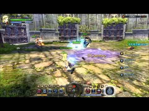 Dragon Nest: Level 24 Engineer Solo Gameplay - Minotaur Nest