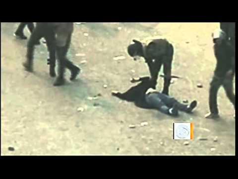 The Early Show - Viral vid of woman being beaten fuels Egypt protests