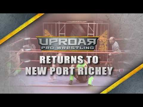 UPROAR Pro Wrestling presents Collision Course! Live from New Port Richey, FL