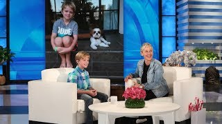 Video Ellen Meets a 10-Year-Old Raising Money for Hearing Impaired MP3, 3GP, MP4, WEBM, AVI, FLV Juli 2018