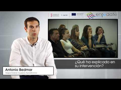 Antonio Bedmar en #EnredateElx 2015
