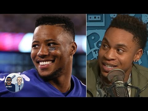 Video: Power actor Rotimi admits he was shocked when Giants drafted QB Daniel Jones | Jalen & Jacoby