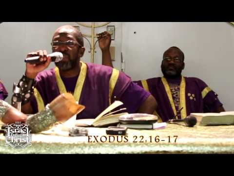 ISRAELITE BOOTLEG MARRIAGE- SETTING A BETTER EXAMPLE