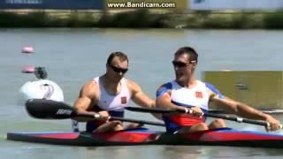 2014 Szeged K2 200m Men U23 Canoe Sprint World Championships