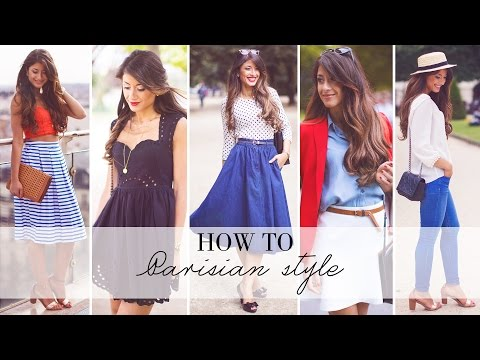 style - Bonjour my beautiful friends! This video is inspired by the style of Parisian women. I have always admired french style which is so chic and effortless, so I had so much fun filming this video....
