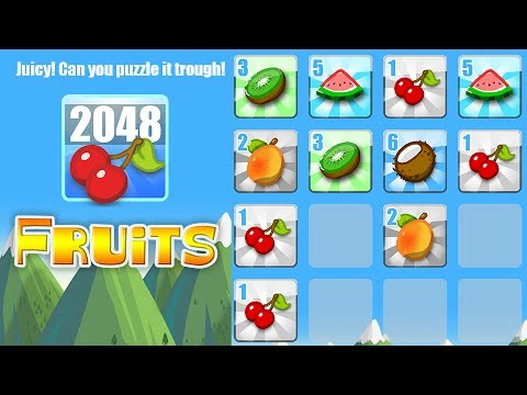 Video of 2048 Fruits
