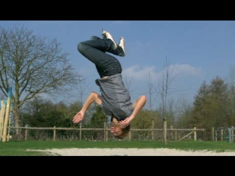 backflip - Gav and Jack went to a near by sandpit to show Jack doing some impressive acrobatics. He does a front flip at 2500fps (100 times slower than real time) and a...