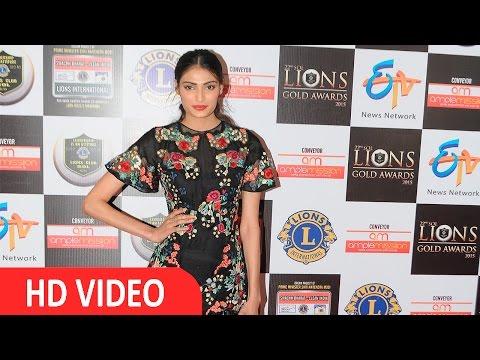 Athiya Shetty | 22nd LIONS Gold Awards | 2016