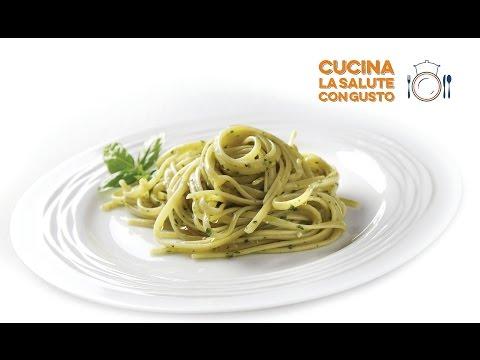 linguine con pesto alla genovese - ricetta